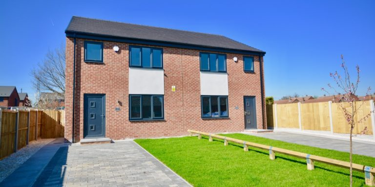 New Housing Development on Laxton Road, Athersley